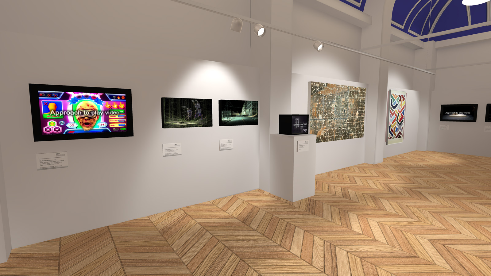 Screenshot from University of Salford VR gallery