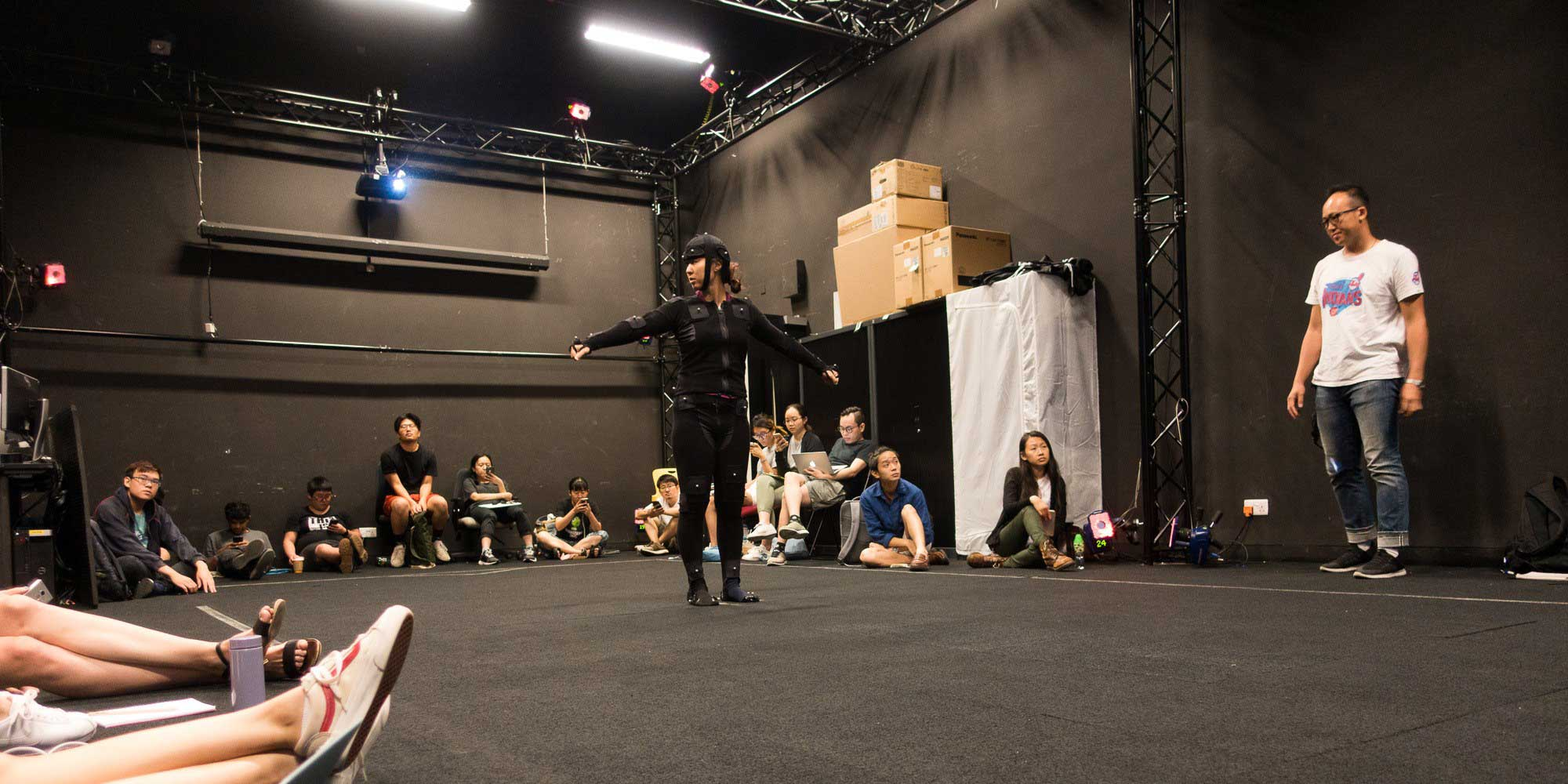 Photo from Motion Capture workshop